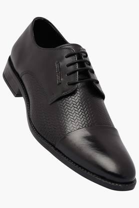 ALBERTO TORRESI Mens Leather Lace Up Derbys