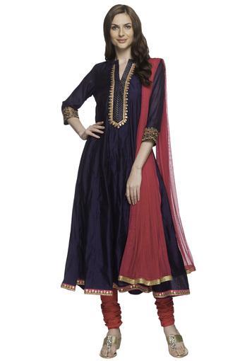KASHISH -  NavySalwar & Churidar Suits - Main