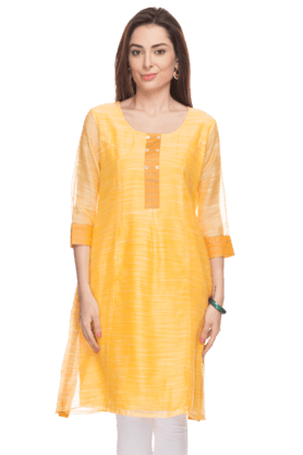 KASHISH Womens Striped Kurta