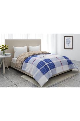 Checked Single Comforter