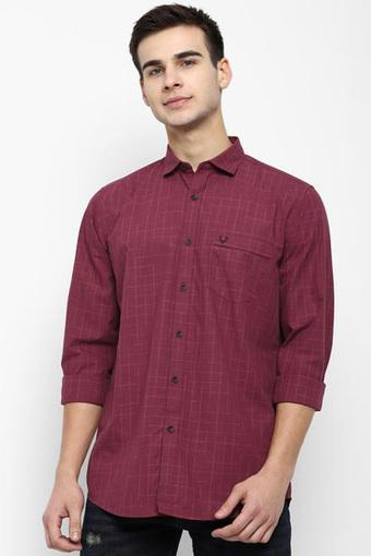 ALLEN SOLLY -  Maroon Allen Solly Shop for 7499 and get 1500 off (GG) - Main