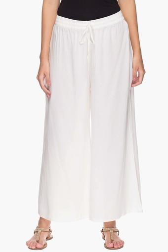 STOP -  Off White Palazzos & Jumpsuits - Main