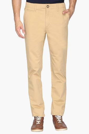 C086 -  KhakiCasual Trousers - Main