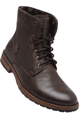 ALBERTO TORRESI Mens Leather Lace Up Boot