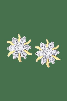 NAKSHATRAWomens 18KT Gold & Diamond Earring - 200960441