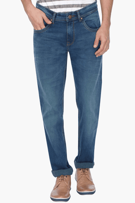 LIFE Mens Washed Jeans - 201476905