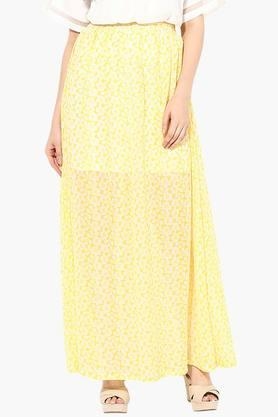 MISS CHASE Womens Printed Maxi Skirt