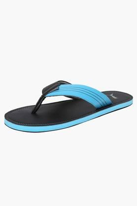PUMA Mens Slip On Leather Flip Flops - 201505320
