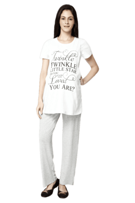 NINE MATERNITY Maternity Nursing Lounge Wear Set - 201106467