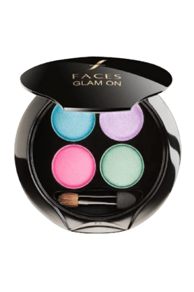 FACES Glam On Palette (15% Off On Rs.1000, 20% Off On Rs.2500, 25% Off On Rs.4000. Applicable On Total Purchase Of Faces Products)