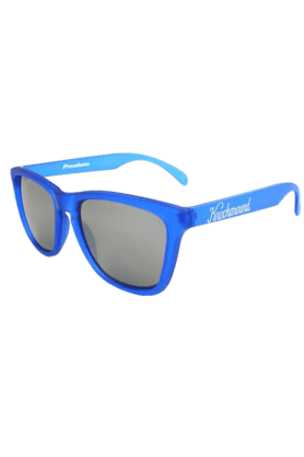KNOCKAROUND Classic Premium Unisex Sunglasses Frosted Cobalt/Smoke-PRGL1029 (Use Code FB20 To Get 20% Off On Purchase Of Rs.1800)