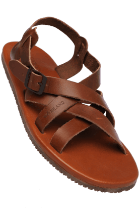 WOODLAND Mens Ankle Buckle Closure Casual Sandal