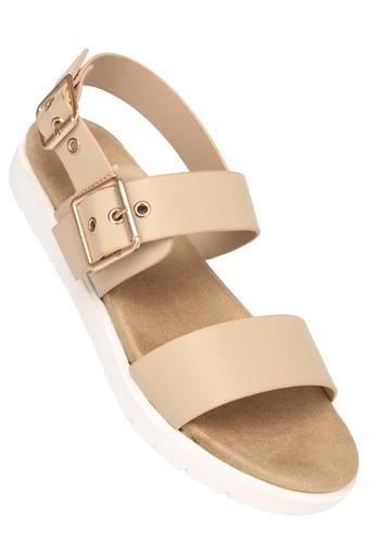 Womens Casual Wear Buckle Closure Sandals