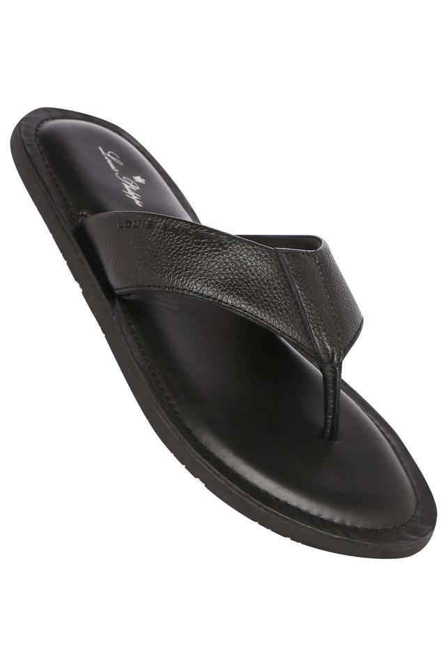 LOUIS PHILIPPE - Black Sandals & Floaters - Main