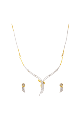 TUAN Stunning Diamond Necklace Set For Women -INK-783