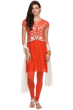IMARA Womens Embroidered Suit Set