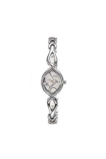 Womens Silver Dial Stainless Steel Analogue Watch - NK2455SM01