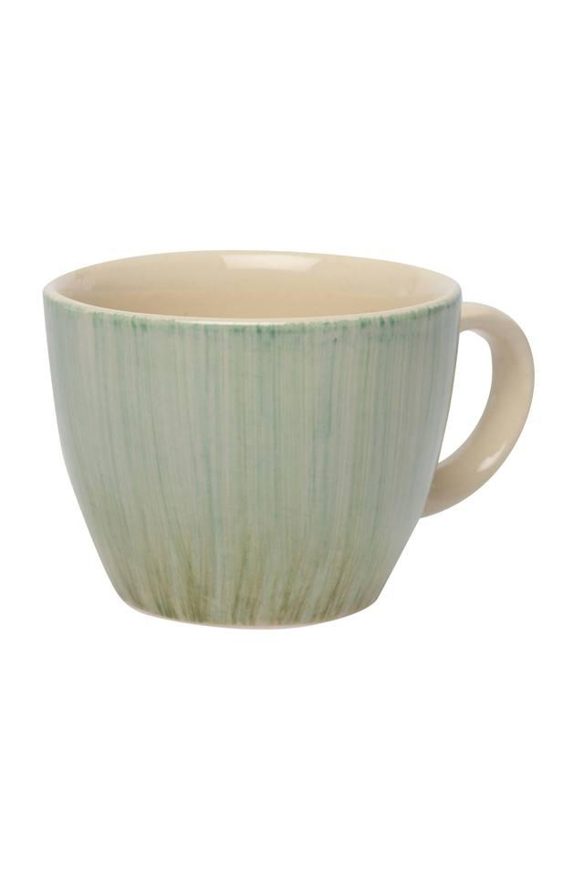 Round Printed Meadow Cappuccino Mug