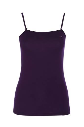 Womens Strappy Neck Solid Camisole