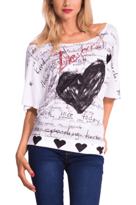 Women Blended Print Top