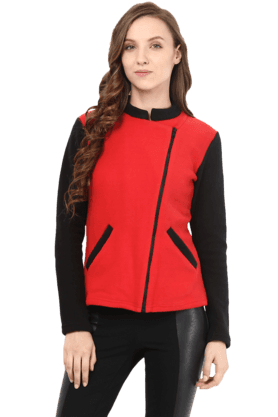 THE VANCA Women Polar Fleece Jacket - 200335711