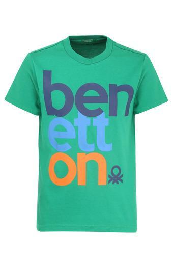 UNITED COLORS OF BENETTON -  GreenTopwear - Main