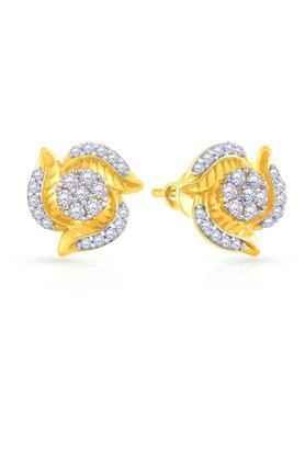 eda3b7551 MALABAR GOLD AND DIAMONDSWomens Gold Earrings PLKSTDZ026 Best ...
