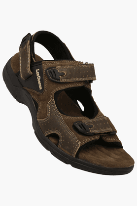 LEE COOPER Mens Velcro Closure Casual Sandal