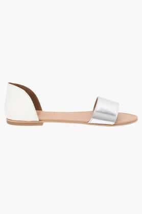 Womens Casual Slipon Flat Sandals