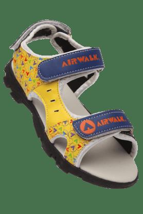 WIESNERUnisex Blue Yellow Airwalk Sandal