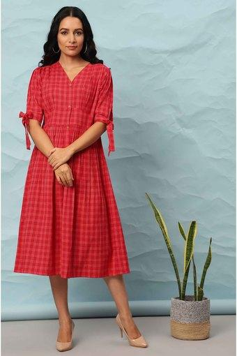 JANASYA -  RedIndianwear Dresses - Main
