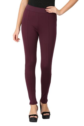 VAN HEUSEN -  Purple Trousers & Pants - Main