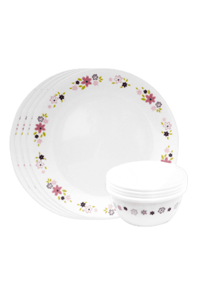 CORELLE Dinner Set (Set Of 8) - Floral Fantasy
