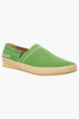 Mens Canvas Slip On Loafers - 202482989