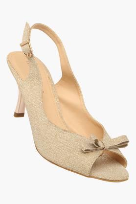 LEMON & PEPPERWomens Casual Ankle Buckle Closure Heel Sandal - 201590365_9417