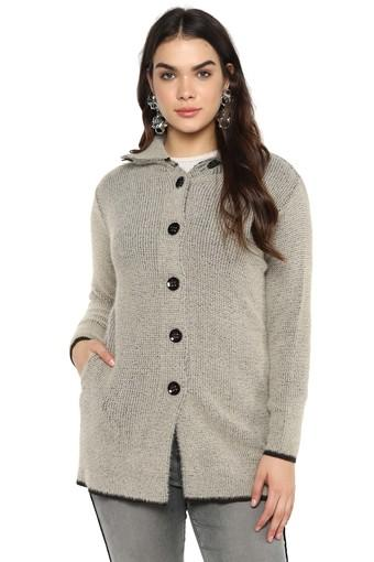 Womens Knitted Cardigan