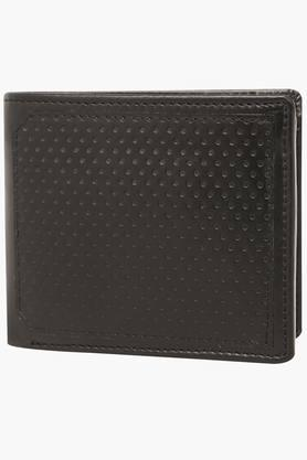 VAN HEUSEN Mens Leather 1 Fold Wallet