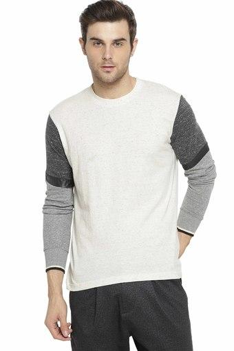 CAMPUS SUTRA -  CharcoalT-Shirts & Polos - Main