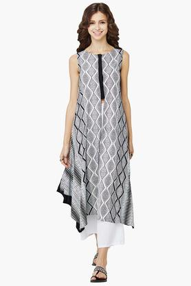 GLOBAL DESI Womens Printed Kurta - 202216742