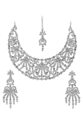 TOUCHSTONE Necklace Set - 9576124