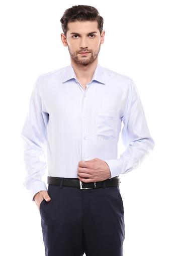 VAN HEUSEN -  Mid Blue Shirts - Main