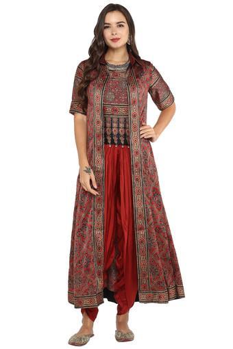 BIBA -  RustSalwar & Churidar Suits - Main