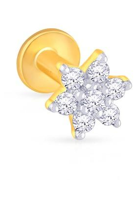 MALABAR GOLD AND DIAMONDSWomens Diamond Nosepin UINSP00102