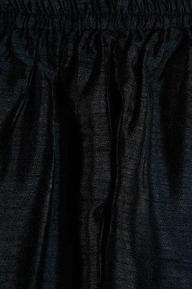 STOP - Black & WhiteKurta Pyjama Jacket Set - 5
