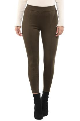 Womens Slub Pants