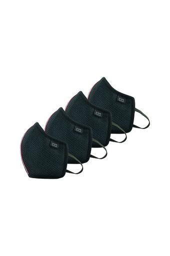 In direzione lattina Conclusione  Buy TOMMY HILFIGER Unisex Reusable Outdoor Protective Face Mask - Pack of 4  | Shoppers Stop