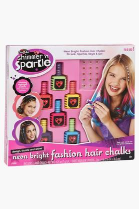 Girls Chalk & Style Hair Flair Set