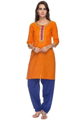 STOP Womens Round Neck Stripe Kurta