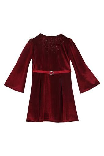 PEPPERMINT -  Maroon Dresses - Main
