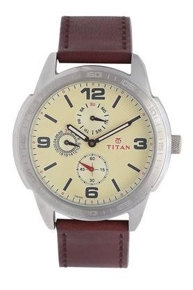 Mens Chronograph Leather Watch - 1585SL05